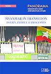 Book cover 'Myanmar in Transition: Polity, People and Processes'. Panorama, Konrad-Adenauer Foundation Singapore, 2013.