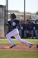 Aldemar Burgos - San Diego Padres 2016 spring training (Bill Mitchell)