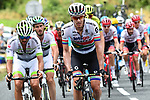 South African Champion Daryl Impey (RSA) Mitchelton-Scott in the large breakaway group during Stage 15 of the 2018 Tour de France running 181.5km from Millau to Carcassonne, France. 22nd July 2018. <br /> Picture: ASO/Alex Broadway | Cyclefile<br /> All photos usage must carry mandatory copyright credit (&copy; Cyclefile | ASO/Alex Broadway)