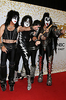 """LOS ANGELES - SEP 19:  Paul Stanley, Tommy Thayer, Eric Singer, Gene Simmons, KISS at the """"America's Got Talent"""" Crowns Winner Red Carpet at the Dolby Theater on September 19, 2018 in Los Angeles, CA"""