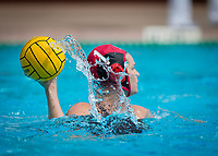 Stanford, CA - March 8, 2020: Emalia Eichelberger at Avery Aquatic Center. The No. 2 Stanford Women's Water Polo team beat the No. 6 Arizona State Sun Devils 9-8.