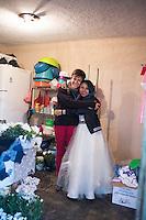 Annuska and Grace. Graciela Garcia Estaban (Grace) and Rafael Marquez Perez´s wedding in the Mazahua community of San Miguel la Labor, Estado de Mexico