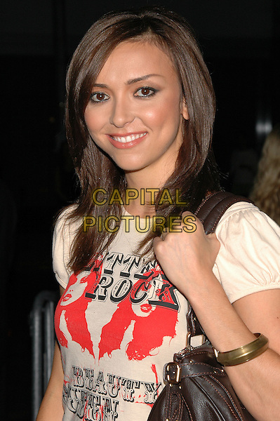 "GIULIANA DEPANDI (E!).Arrives at the ""Proof"" Premiere st Ziegfeld Theater,.New York, 13th September 2005.portrait headshot.Ref: ADM/PO.www.capitalpictures.com.sales@capitalpictures.com.© Capital Pictures."