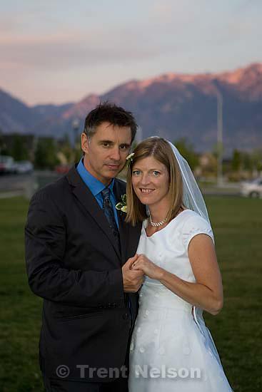 Maddie Quayle, Dave Scott wedding.Monday August 3, 2009 in South Jordan.