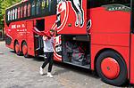 20.07.2019, Heinz Detmar Stadion, Lohne, Interwetten Cup 1. FC Koeln vs VFL Osnabrueck Ankunft der Mannschaft in Lohne und erste Autogramme<br /> <br /> im Bild / picture shows <br /> <br /> Birger Verstraete (Koeln #8)<br /> <br /> Foto © nordphoto / Kokenge