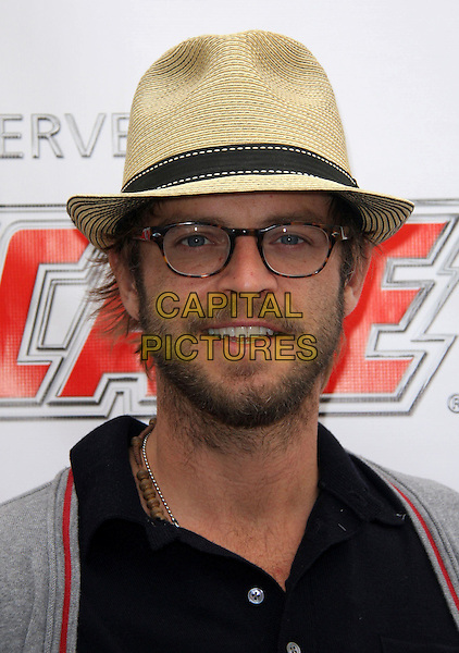 CARMINE GIOVANAZZO .Oscar De La Hoya 10th Annual Celebrity Golf Classic held at The Lakeside Country Club, Burbank, California, USA, 1st June 2009..portrait headshot fedora hat glasses beard facial hair.CAP/ADM/KB.©Kevan Brooks/Admedia/Capital Pictures