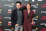 """Diego Martin and Amaia Salamanca attend the Premiere of the movie """"El club de los incomprendidos"""" at callao Cinema in Madrid, Spain. December 1, 2014. (ALTERPHOTOS/Carlos Dafonte)"""