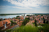 SERBIA, Belgrade, The Zemun neighborhood next to the River Danube, Eastern Europe