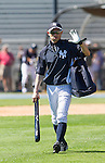 Ichiro Suzuki (Yankees),<br /> FEBRUARY 20, 2014 - MLB : Ichiro Suzuki of the New York Yankees during the Yankees spring training baseball camp at George M. Steinbrenner Field in Tampa, Florida, United States.<br /> (Photo by Thomas Anderson/AFLO) (JAPANESE NEWSPAPER OUT)