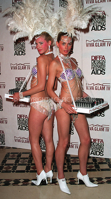 Models Meghan Lowther and Lina O'Connor at the Viva Glam Casino event to benefit Design Industries Foundation Fighting Aids at Cipriani 42nd Street. New York, June 19, 2002. Please byline: Alecsey Boldeskul/NY Photo Press.   ..*PAY-PER-USE*      ....NY Photo Press:  ..phone (646) 267-6913;   ..e-mail: info@nyphotopress.com