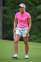 Erica Shepherd (a) (USA) reacts to barely missing her putt on 13 during round 1 of the U.S. Women's Open Championship, Shoal Creek Country Club, at Birmingham, Alabama, USA. 5/31/2018.<br /> Picture: Golffile | Ken Murray<br /> <br /> All photo usage must carry mandatory copyright credit (&copy; Golffile | Ken Murray)