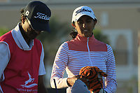 Aditi Ashok (IND) during the second round of the Fatima Bint Mubarak Ladies Open played at Saadiyat Beach Golf Club, Abu Dhabi, UAE. 11/01/2019<br /> Picture: Golffile | Phil Inglis<br /> <br /> All photo usage must carry mandatory copyright credit (© Golffile | Phil Inglis)
