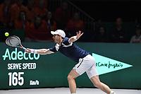 20th November 2019, Caja Magica, Madrid, Spain; Davies Cup tennis finals, Great Britain versus Netherlands;  Andy Murray GBR