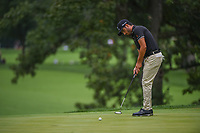 Abraham Ancer (MEX) barely misses his birdie putt on 4 during Rd3 of the 2019 BMW Championship, Medinah Golf Club, Chicago, Illinois, USA. 8/17/2019.<br /> Picture Ken Murray / Golffile.ie<br /> <br /> All photo usage must carry mandatory copyright credit (© Golffile   Ken Murray)