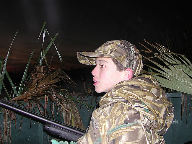 First Duck Hunt