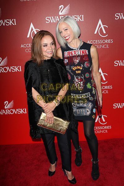 PANEW YORK, NY - NOVEMBER 2: Nancy Gonzalez and Linda Fargo attend the Accessories Council 2015 ACE Awards at Cipriani 42nd Street  on November 2, 2015 in New York City.  <br /> CAP/MPI99<br /> &copy;MPI99/Capital Pictures
