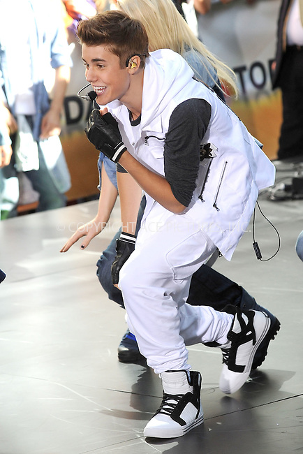 WWW.ACEPIXS.COM . . . . . .June 15, 2012...New York City...Justin Bieber performs on NBC's 'Today' at Rockefeller Center on June 15, 2012 in New York City.....Please byline: KRISTIN CALLAHAN - ACEPIXS.COM.. . . . . . ..Ace Pictures, Inc: ..tel: (212) 243 8787 or (646) 769 0430..e-mail: info@acepixs.com..web: http://www.acepixs.com .