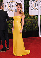 Leslie Mann at the 72nd Annual Golden Globe Awards at the Beverly Hilton Hotel, Beverly Hills.<br /> January 11, 2015  Beverly Hills, CA<br /> Picture: Paul Smith / Featureflash