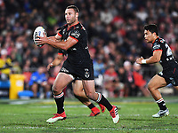 Blake Green.<br /> NRL Premiership rugby league. Vodafone Warriors v St George Illawarra. Mt Smart Stadium, Auckland, New Zealand. Friday 20 April 2018. &copy; Copyright photo: Andrew Cornaga / www.Photosport.nz