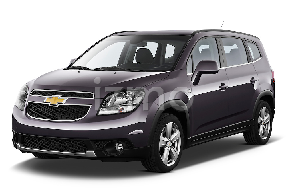 2013 Chevrolet Orlando LTZ+ MPV Angular Front Stock Photo