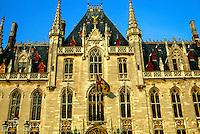 Provinciaal Hof, Markt (Market Square), Brugge, Belgium