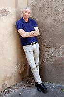 Film director Robin Campillo<br /> Roma 28/09/2017. '120 battiti al minuto' (120 battements par minute) Photocall<br /> Rome September 28th 2017. '120 Beats per Minute' photocall in Rome<br /> Foto Samantha Zucchi Insidefoto