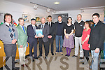 At the opening of the 'Norish Fest' in Tech Amergin, Waterville on Friday evening last were Thorbjorm Liell, Russell Cunningham, TD Michael Healy-Rae, Erling Aas-Engh(Mayor of Tolga, Norway), Stein Halvorsen(Chief Exec), Carl Christopher Gjerpen(Deputy Head of Mission, Royal Norwegian Embassy, Dublin), Susan Walsh, Mark Heinemann, Marita Hitmiangsong & Joe McGill.  The event was an opportunity to showcase the very best of what South West Kerry has to offer.