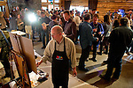 Images of the 2015 Arts Council of Big Sky fundraiser and auction at Lone Mountain Ranch on March 26, 2015.  Photo by Rich Addicks