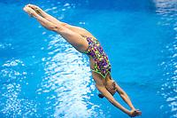 Kristina Iliynkh RUS<br /> 3m Springboard Women preliminary<br /> Day 06 14/06/2015  <br /> 2015 Arena European Diving Championships<br /> Neptun Schwimmhalle<br /> Rostock Germany 09-14 June 2015 <br /> Photo Giorgio Perottino/Deepbluemedia/Insidefoto