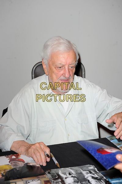 LONDON, ENGLAND - JULY 12: Bernard Cribbins attending London Film and Comic Con 2014 at Earls Court on July 12, 2014 in London, England.<br /> CAP/MAR<br /> &copy; Martin Harris/Capital Pictures