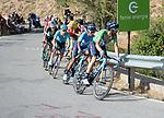 Green Jersey Alejandro Valverde (ESP) and Nairo Quintana (COL) Movistar Team climb Sierra de la Alfaguara during Stage 4 of the La Vuelta 2018, running 162km from Velez-Malaga to Alfacar, Sierra de la Alfaguara, Andalucia, Spain. 28th August 2018.<br /> Picture: Colin Flockton   Cyclefile<br /> <br /> <br /> All photos usage must carry mandatory copyright credit (&copy; Cyclefile   Colin Flockton)