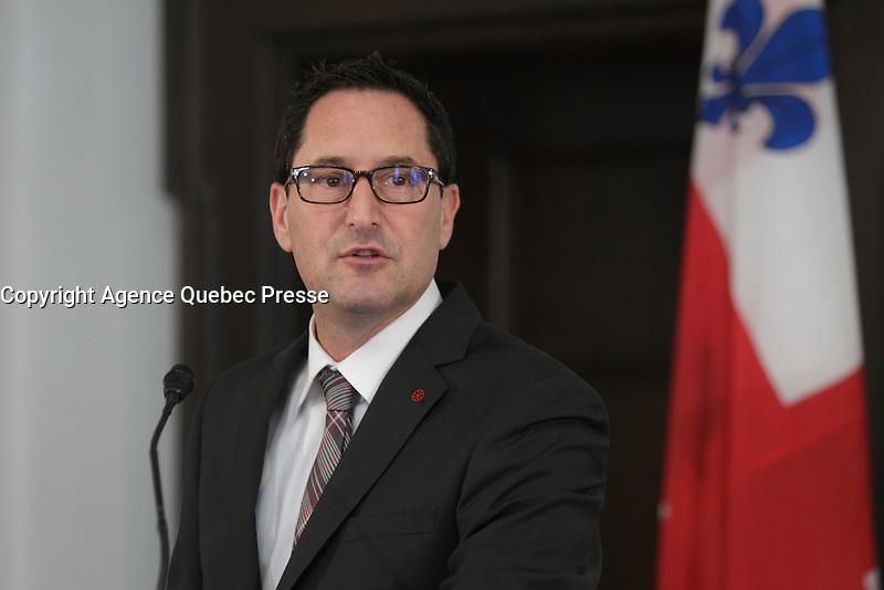 2013 File Photo - Michael Applebaum, Mayor of Montreal.