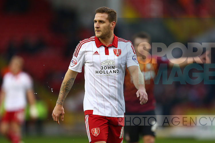 Sheffield United's Billy Sharp - Sheffield United vs Bradford City - Skybet League One - Bramall Lane - Sheffield - 28/12/2015 Pic Philip Oldham/SportImage