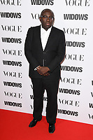 "LONDON, UK. October 31, 2018: Edward Enninful at the ""Widows"" special screening in association with Vogue at the Tate Modern, London.<br /> Picture: Steve Vas/Featureflash"