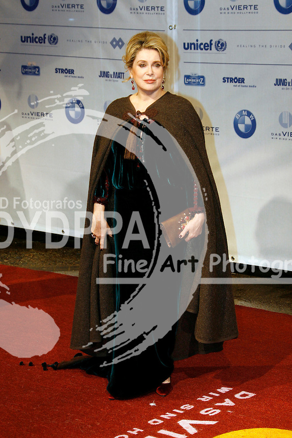 Actress Catherine Deneuve attends the Cinema for Peace Charity -Gala at Konzerthaus am Gendarmenmarkt, Berlin