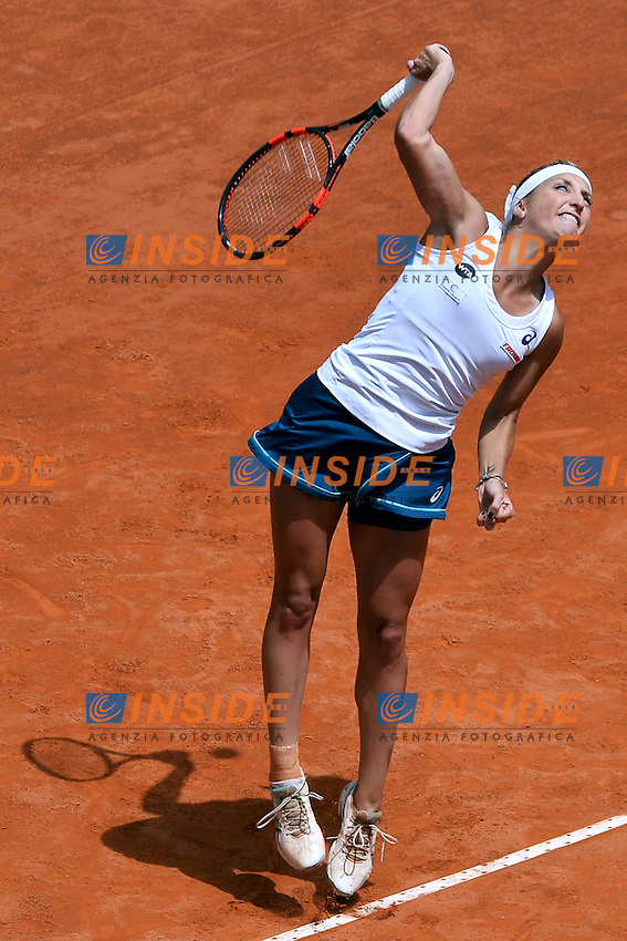 Timea Bacsinszky (SUI)<br /> Roma 13-05-2016  Foro Italico<br /> Internazionali BNL d'Italia, <br /> Tennis WTA<br /> Foto Antonietta Baldassarre / Insidefoto