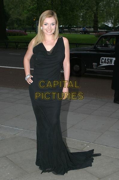 KATHERINE JENKINS.Sony Radio Academy Awards.full length, full-length, black dress.www.capitalpictures.com.sales@capitalpictures.com.© Capital Pictures.