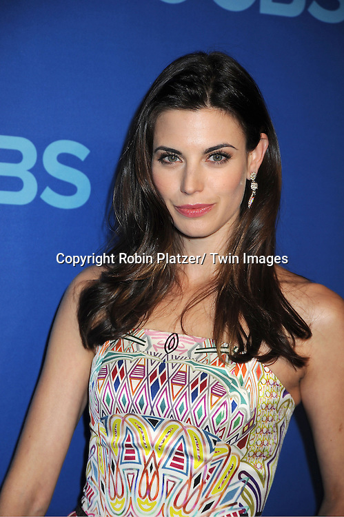Meghan Ory attends the CBS Prime Time 2013 Upfront on May 15, 2013 at Lincoln Center in New York City.