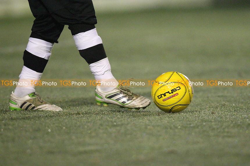 Maldon & Tiptree vs Romford - Ryman League Division One North Football - 17/01/12 - MANDATORY CREDIT: Gavin Ellis/TGSPHOTO - Self billing applies where appropriate - 0845 094 6026 - contact@tgsphoto.co.uk - NO UNPAID USE.