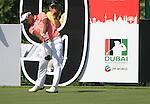 Thongchai Jaidee tees off on the 9th tee during Day 1 of the Dubai World Championship, Earth Course, Jumeirah Golf Estates, Dubai, 25th November 2010..(Picture Eoin Clarke/www.golffile.ie)