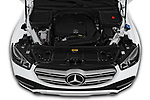 Car Stock 2020 Mercedes Benz GLE 350-d-4MATIC 5 Door SUV Engine  high angle detail view