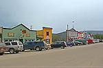 Dawson City, 2010,    Front Street,THE YUKON TERRITORY, CANADA