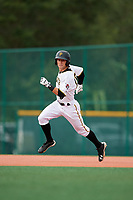 GCL Pirates right fielder Jack Herman (49) runs the bases during the first game of a doubleheader against the GCL Yankees East on July 31, 2018 at Pirate City Complex in Bradenton, Florida.  GCL Yankees East defeated GCL Pirates 2-0.  (Mike Janes/Four Seam Images)