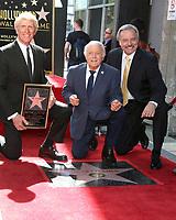 LOS ANGELES - FEB 24:  Donovan Tea, Tony Butala, Mark Preston at the The Lettermen Star Ceremony on the Hollywood Walk of Fame on February 24, 2019 in Los Angeles, CA