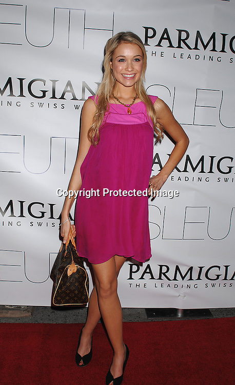 """Katrina Bowden  of 30 Rock..arriving at The New York Premiere of """"Sleuth"""" on ..October 2, 2007 at The Paris Theatre. The event was ..hosted bu Parmigiani Watch Company. ..Photo by Robin Platzer, Twin Images....212-935-0770"""