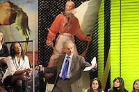 - Milano, gli studi televisivi di LA7 da cui va in onda la trasmissione di approfondimento informativo &quot;L'Infedele&quot;; il giornalista e conduttore Gad Lerner<br /> <br /> - Milan, television studios of LA7 from which is transmitted the in-depth information show &quot;L'Infedele&quot;; the journalist and anchorman Gad Lerner