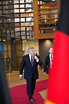Brussels, Belgium -- November 24, 2017 -- Eastern Partnership Summit, meeting of Heads of State / Government (EU and six Eastern partner countries) at the Europa building - seat of the European Council and Council of the European Union; here, Antonio TAJANI, President of the European Parliament -- Photo: © HorstWagner.eu
