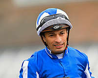 Jockey Silveste de Sousa during Racing at Newbury Racecourse on 12th April 2019