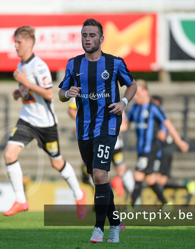 Club Brugge KV : Tuur Dierckx <br /> foto VDB / BART VANDENBROUCKE
