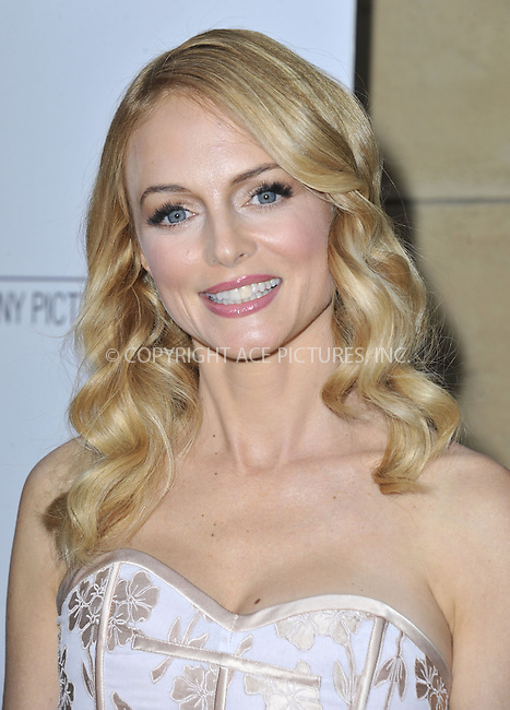 WWW.ACEPIXS.COM....April 16 2013, LA....Heather Graham arriving at the 'At Any Price' Los Angeles premiere at the Egyptian Theatre on April 16, 2013 in Hollywood, California. ....By Line: Peter West/ACE Pictures......ACE Pictures, Inc...tel: 646 769 0430..Email: info@acepixs.com..www.acepixs.com